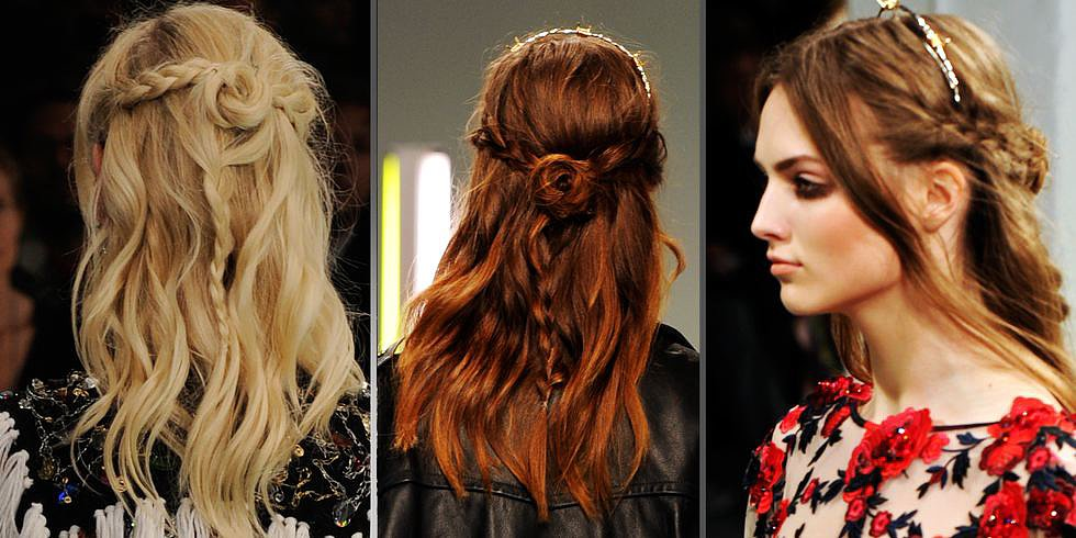 Braids, Ponytails, and More! Watch the Top Hair Trends From New York Fashion Week