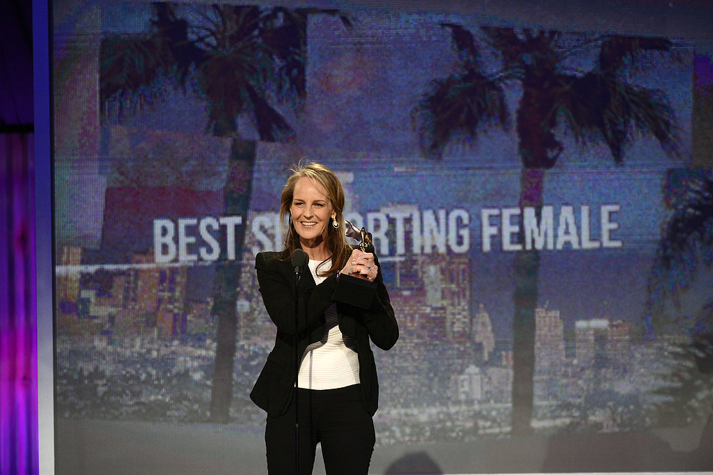 Helen Hunt won the award for best supporting female in The Sessions.