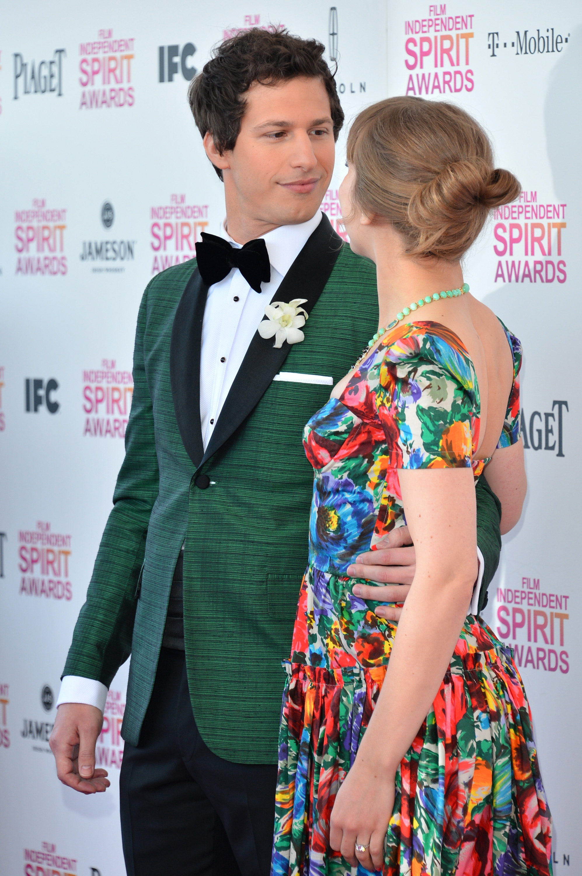 Andy Samberg and Joanna Newsom on