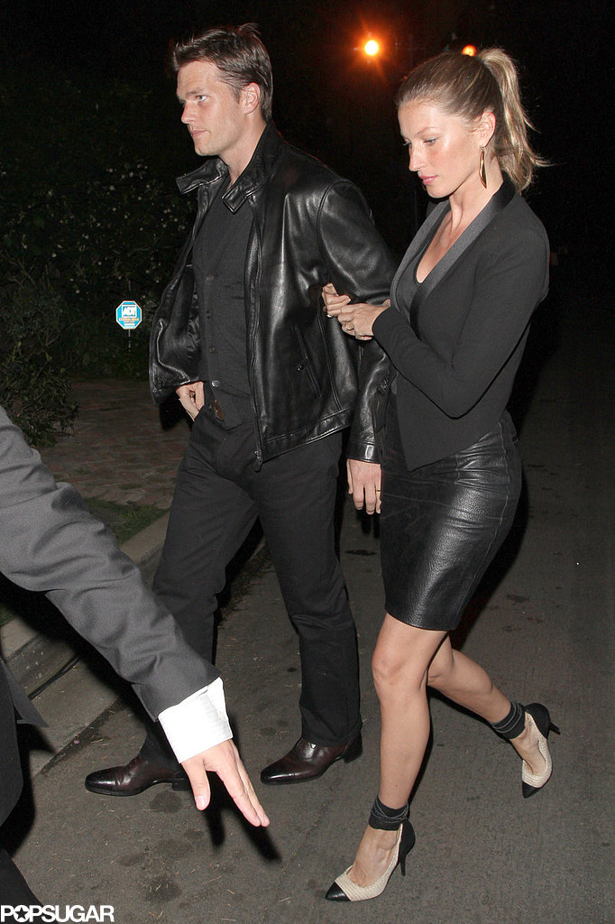 Gisele Bündchen and Tom Brady went out in LA.