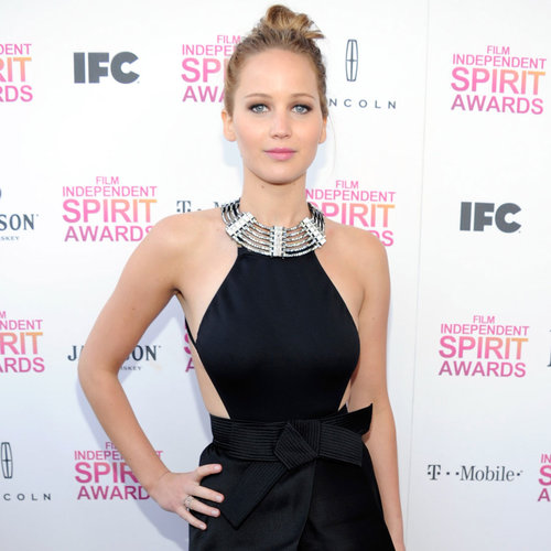 2013 Independent Spirit Awards Style: Jennifer Lawrence