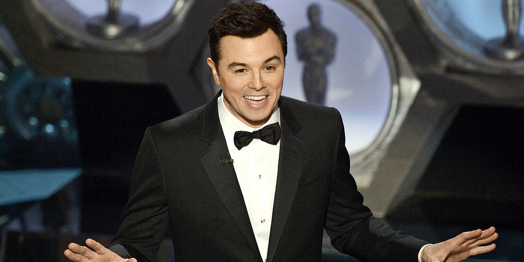 "Video: Seth MacFarlane Sings ""We Saw Your Boobs"" at the Oscars"