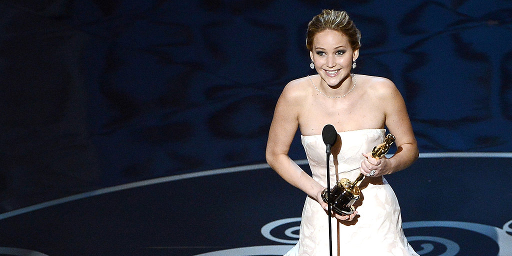 Video: Jennifer Lawrence's Sweet Oscars Acceptance Speech