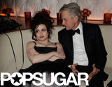 Helena Bonham Carter and Michael Douglas chatted at Vanity Fair's Oscar afterparty.