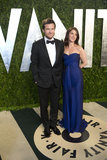 Jason Bateman arrived at the Vanity Fair Oscar party.