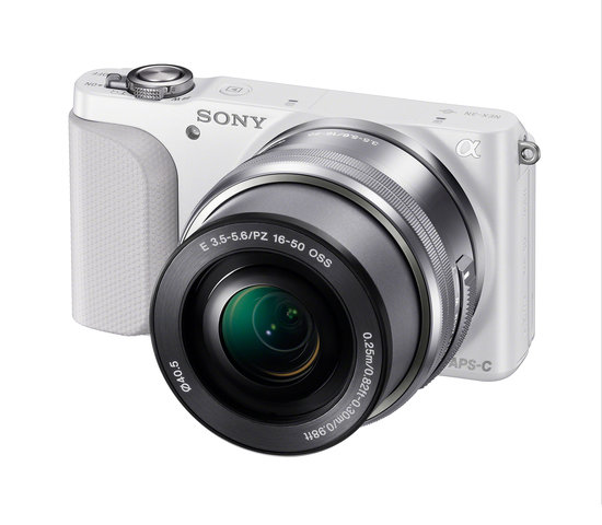 A 16-50mm kit zoom lens comes with the NEX-3N in April.