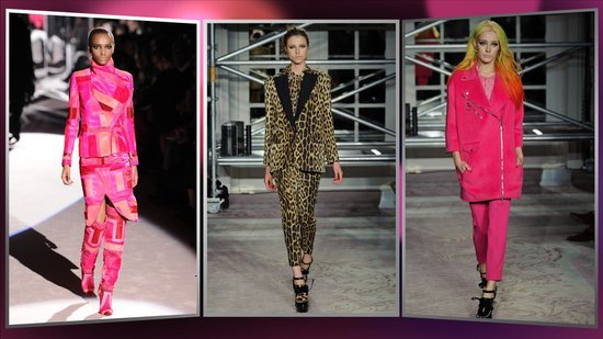 London Fashion Week's Biggest Trends: High-Wattage Hues and Wild Prints
