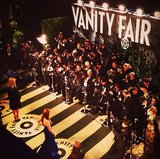 The Vanity Fair lineup highlighted the striking silhouettes heading into the afterparty. Source: Instagram user vanityfair