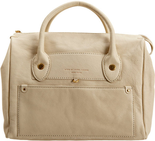 Marc by Marc Jacobs Preppy Leather Pearl Duffel