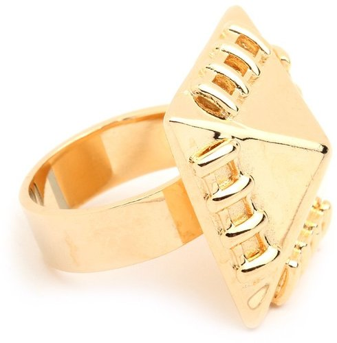 Sophie Blake Gold Stitch Ring