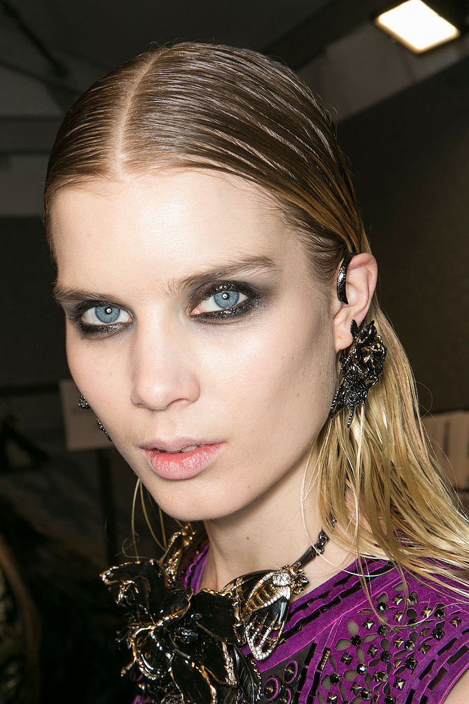 Neat, clean liner not your thing? Roberto Cavalli wants you to smudge away, sister!