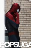 Andrew Garfield in The Amazing Spider-Man 2.