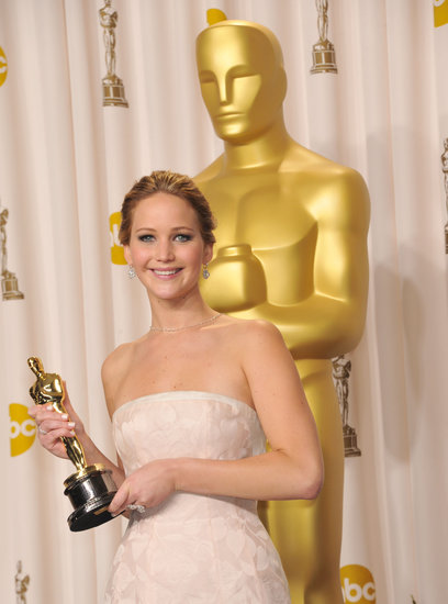Most Endearing Entertainer: Jennifer Lawrence