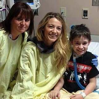 Blake Lively, Ryan Reynolds Visit Hospital on Oscars (Video)