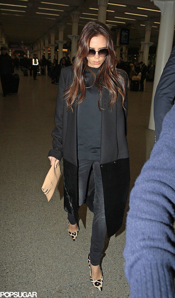 Victoria Beckham Heads Home Following David's Big Win