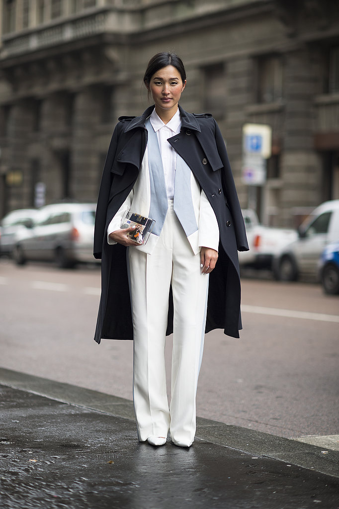 We love the simplified silhouettes and classic topper. Source: Le 21ème | Adam Katz Sinding