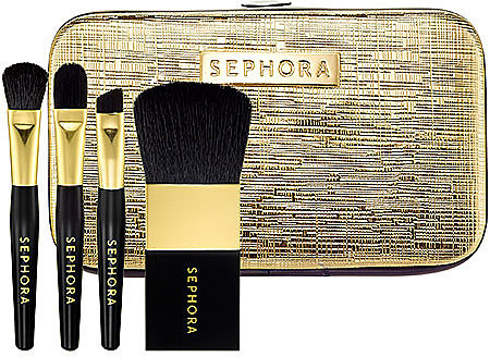SEPHORA COLLECTION Gold Crackle Mini Brush Set