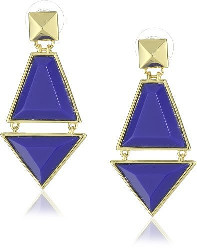 Vince Camuto Blue Kite Earrings