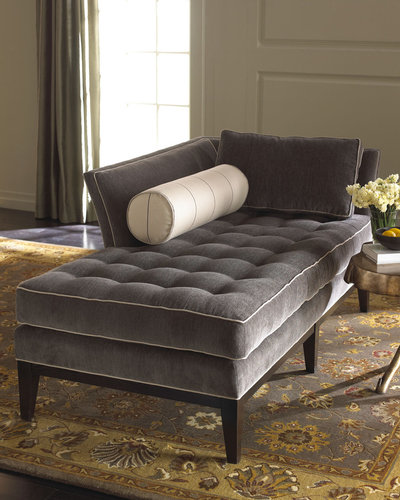 Vanguard Gray Chaise