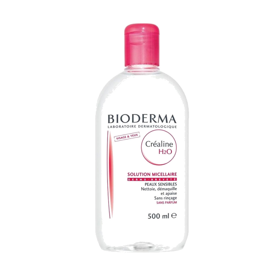 Stubborn makeup doesn't stand a chance against Bioderma Crealine H2O Micellaire Solution ($34). The cleanser is specially formulated for both the face and the eyes and wicks away any and all traces of dirt and makeup.