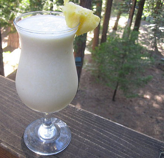 Stick to the tried and true with this traditional piña colada recipe.
