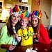 Alessandra Ambrosio had a Brazilian celebration with her daughter, Anja, and a friend.