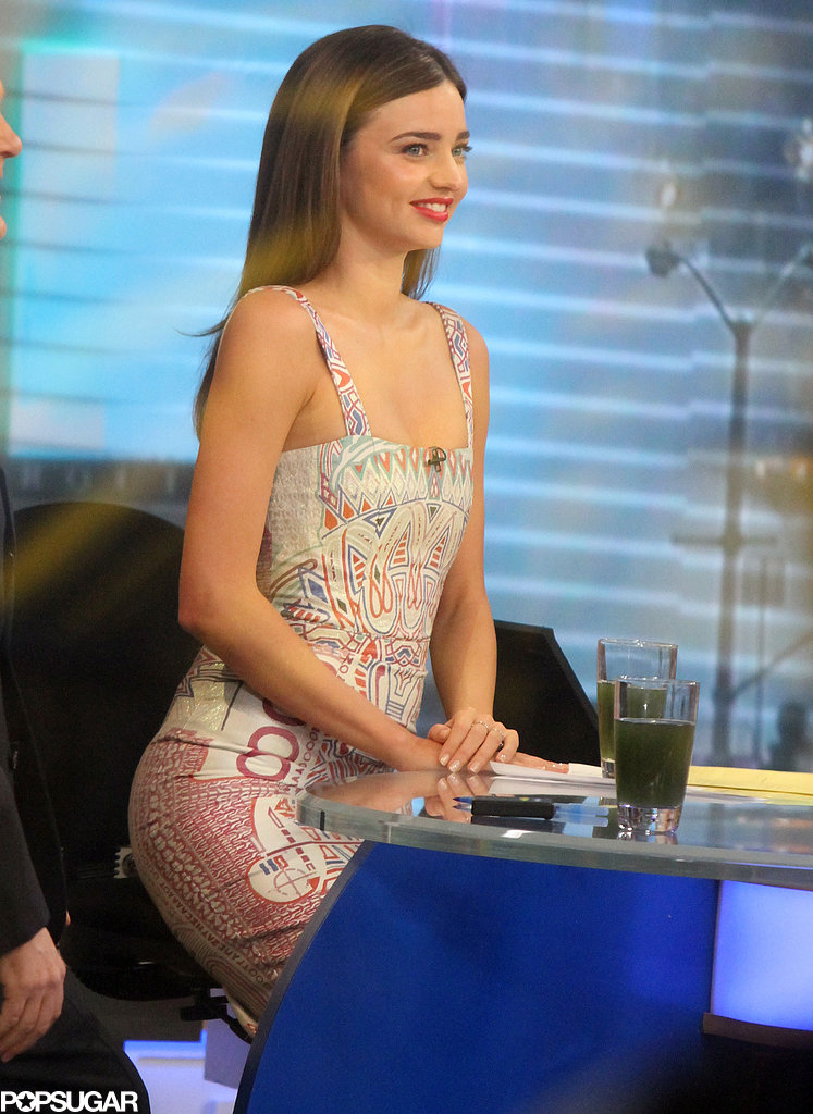 Miranda Kerr Drops By GMA to Dish Her Health Secrets