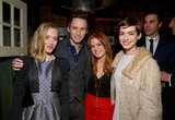Amanda Seyfried, Eddie Redmayne, and Anne Hathaway linked up with Isla Fisher at a Vanity Fair pre-Oscars bash in LA.