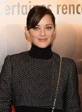Marion Cotillard attended the Jappeloup premiere in Paris.