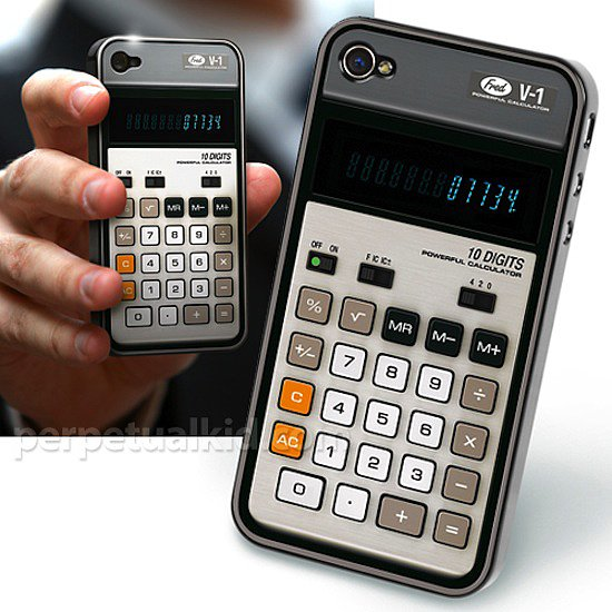 Whether calculators give you nightmares of algebra class or produce fond memories of graph paper, you have to admit there's something so great about an old-school Calculator iPhone Case ($13).