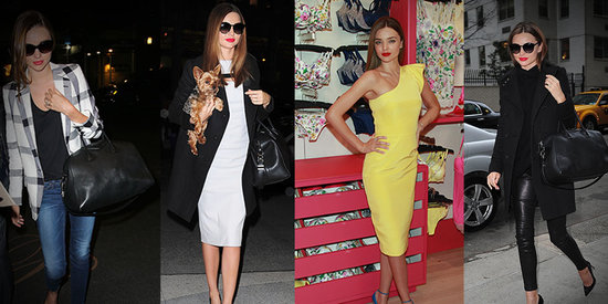 Miranda Kerr Delivers 4 Enviable Looks in Just 24 Hours!