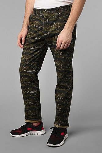 Camo is everywhere — and I mean everywhere — in menswear. I love this pair of Camo Koto Tiger Camo Military Chinos ($59), with its dark color palette and slim silhouette. It would look especially good paired with a navy blazer. — Robert Khederian, Style & Trends editorial assistant