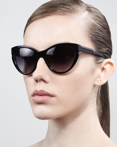 Stella McCartney Sunglasses Cat-Eye Sunglasses, Black
