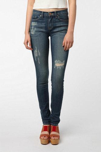 BDG Cigarette High-Rise Jean - Washed Indigo