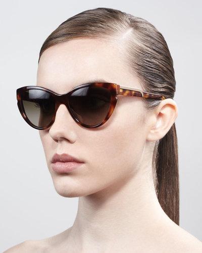 Stella McCartney Sunglasses Cat-Eye Sunglasses, Tortoise
