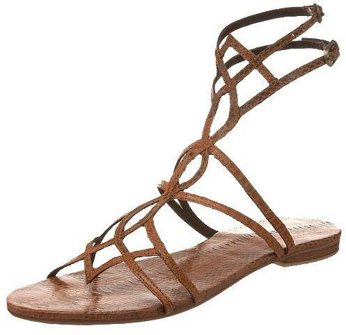 Lace Ankle Sandals