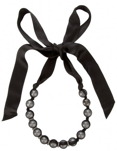 Lanvin beaded choker necklace
