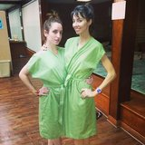 Whitney Cummings had a Korean spa day with her costar Zoe Lister-Jones.  Source: Instagram user whitneyacummings