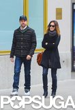 Olivia Wilde and Jason Sudeikis took a walk together in NYC.