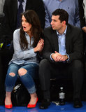 Katie Holmes got into the game.