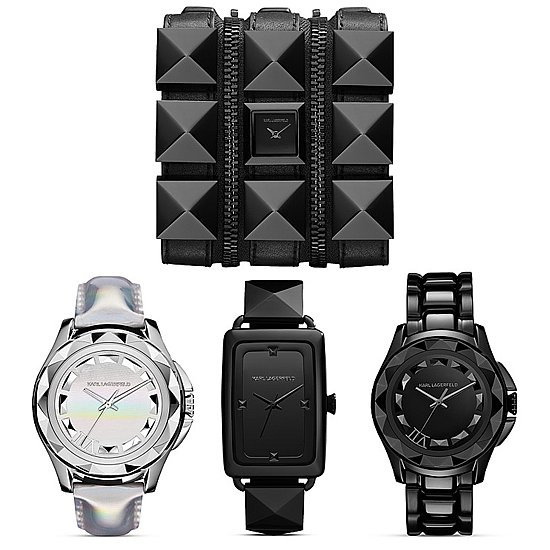 It's About Time For a Rock-Star Watch by Karl Lagerfeld!