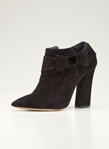 Casadei High heeled chunky side bow bootie