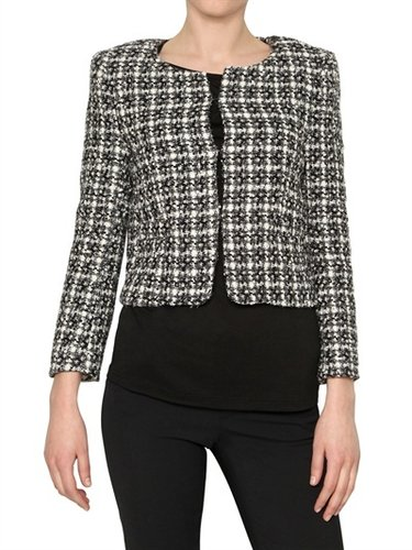 Alice+olivia - Boucl Wool Tweed Jacket