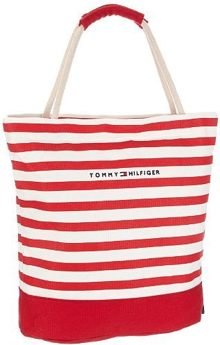 Tommy Hilfiger Women&#039;s Sailor I Small Rope Tote Canvas Beach Bag