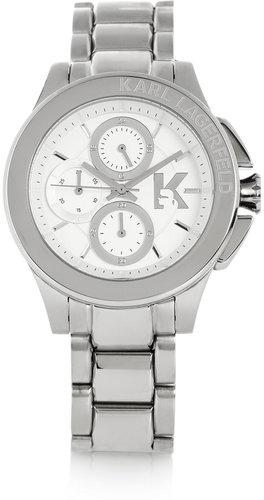 Karl Lagerfeld Karl Energy stainless steel chronograph watch