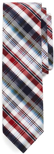 Americana Plaid Slim Tie