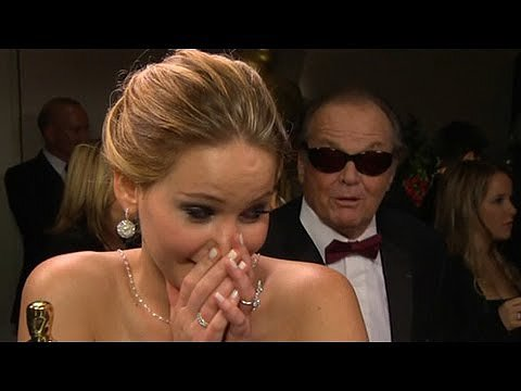 Jack Nicholson Flirts With Jennifer Lawrence