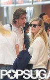 Kirsten Dunst and Garrett Hedlund Pair Up For a Parisian Trip