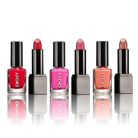 The DKNY Spring must haves Lip & Nail Set ($45) comes with three classic Spring nail polish shades and coordinating lipsticks. Updating your makeup bag is just that easy.