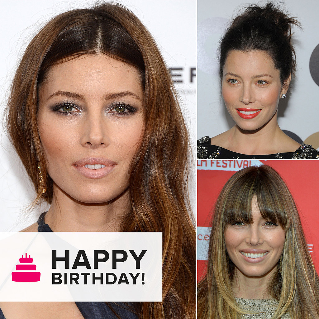 Happy Birthday! See Jessica Biel's Hair Color Changes Over the Years